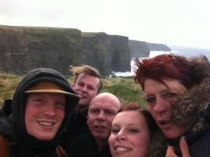 Cliffs of Moher - Family