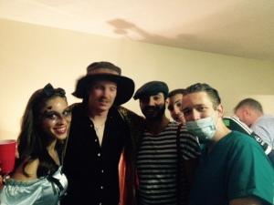 Gangster Alice in Wonderland, Disco Hustler, French Farmer Boy and Dr. Mike