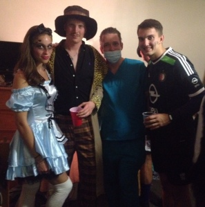 Ganster Alice in Wonderland, Disco Hustler, Dr. Mike and Russian Feyenoord player.